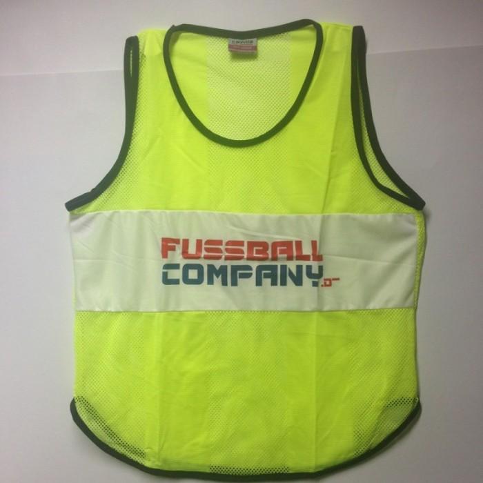 Fussballcompany.de-Trainings-Leibchen 10er Set gelb