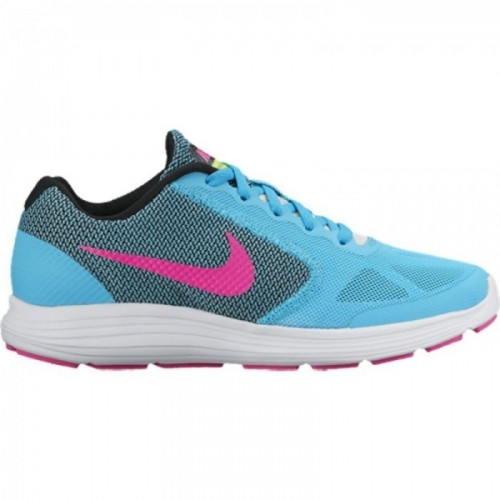 Nike Revolution 3 (GS) Mädchen hellblau/pink