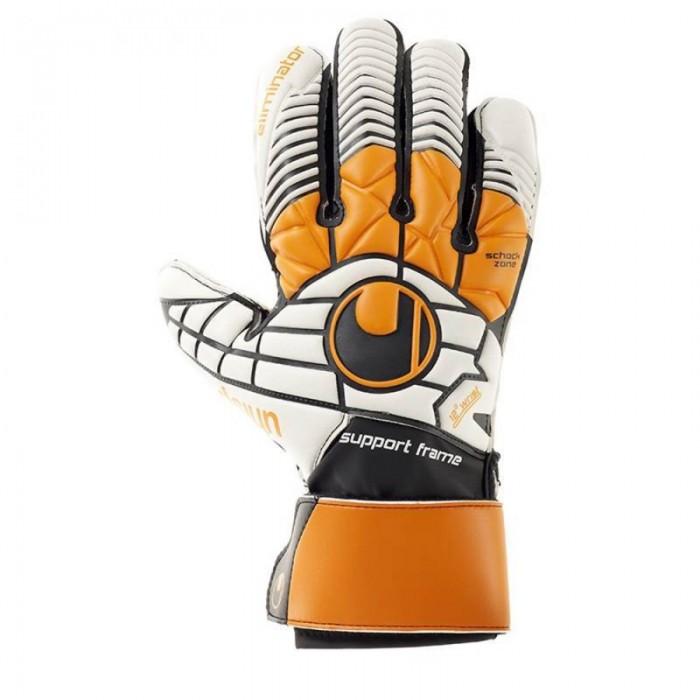 Uhlsport Torwarthandschuhe Eliminatior soft SF orange/weiß