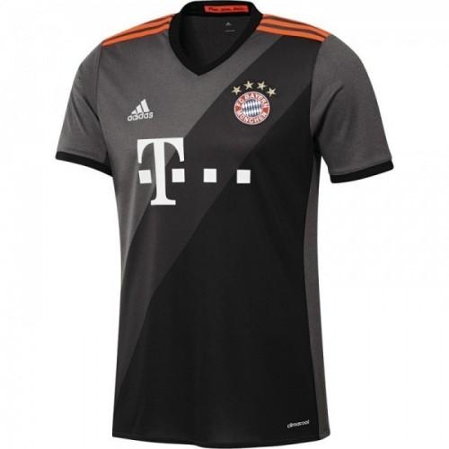 Adidas FC Bayern Auswärts-Trikot grau