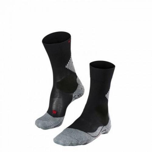 Falke 4 Grip Sportsocken schwarz/grau