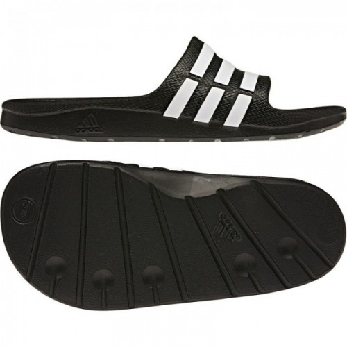 Adidas Badeschuhe Duramo Slide Kinder schwarz