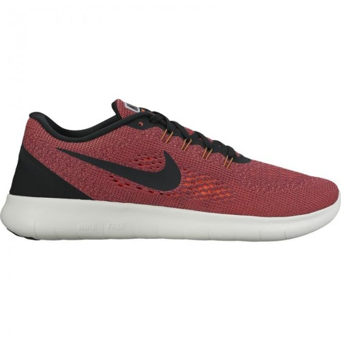 Nike Free RN rot/schwarz