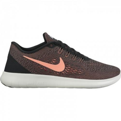Nike Free RN Damen lava/schwarz