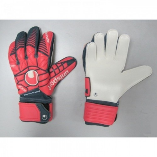 Uhlsport Torwarthandschuhe Eliminator Supersoft Bionik 162 SONDERMODELL rot/ant