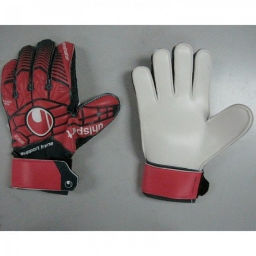 Uhlsport Torwarthandschuhe Eliminator Soft SF jr 163 Kinder SONDERMODELL rot/an
