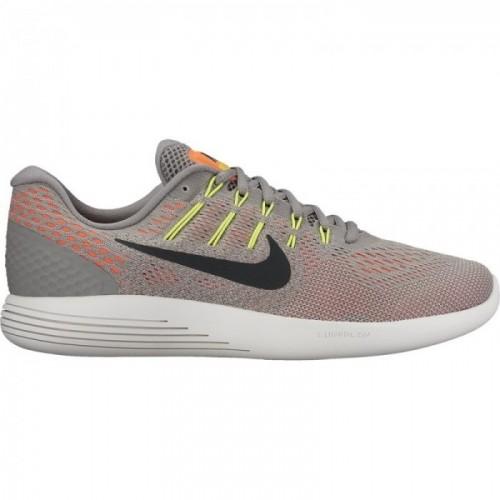 Nike Laufschuhe Lunarglide 8 grau/orange