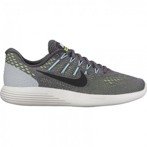 Nike Damen-Laufschuhe Lunarglide 8 dunkelgrau/schwarz