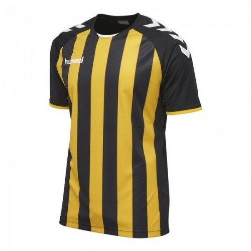 Hummel Core Striped ss Jersey schwarz/gelb