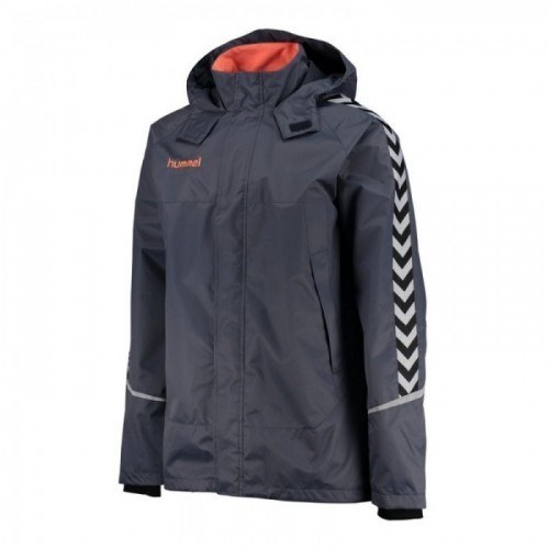 Hummel Authentic Charge All-Wetter Jacke Kinder graublau