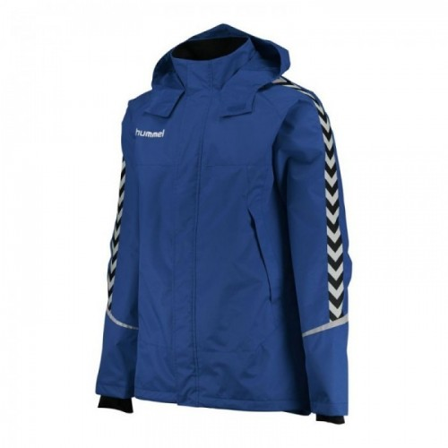 Hummel Authentic Charge All-Wetter Jacke Kinder blau