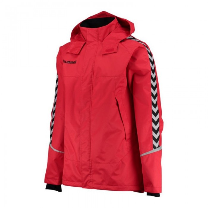 watch 651f3 9e059 Hummel Authentic Charge All-Wetter Jacke Kinder rot
