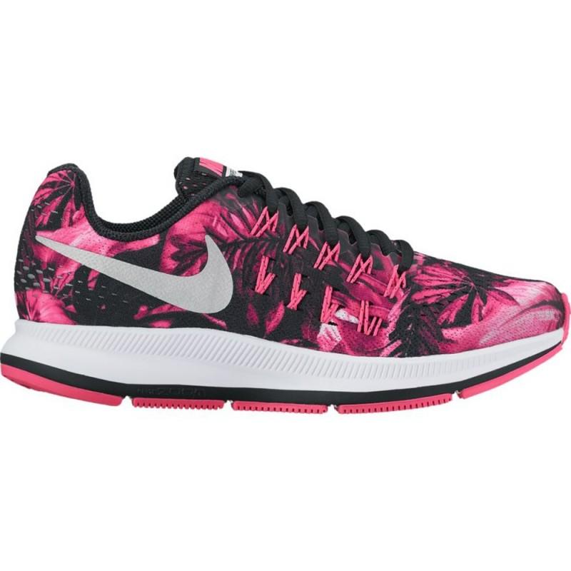 Nike Zoom Pegasus 33 Print (GS) Mädchen pinkschwarzweiß