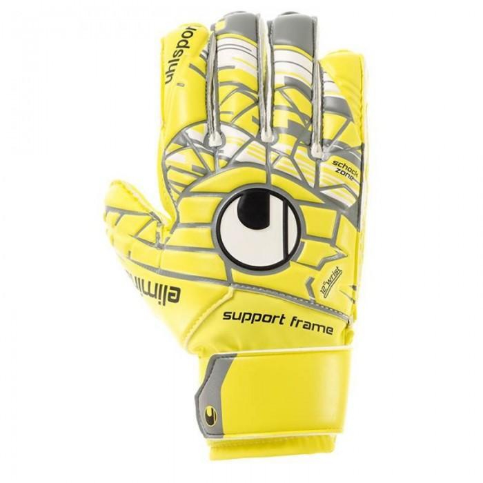 Uhlsport Torwart-Handschuhe Eliminator Soft SF Junior gelb/grau