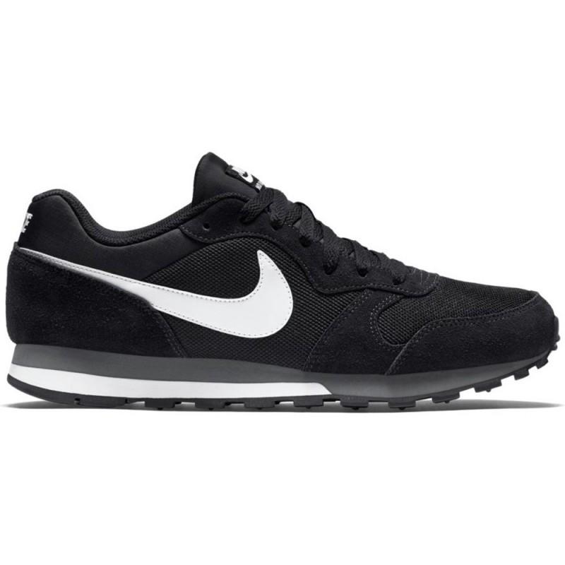buy online e48b3 dbaff Nike MD Runner 2 schwarzweiß