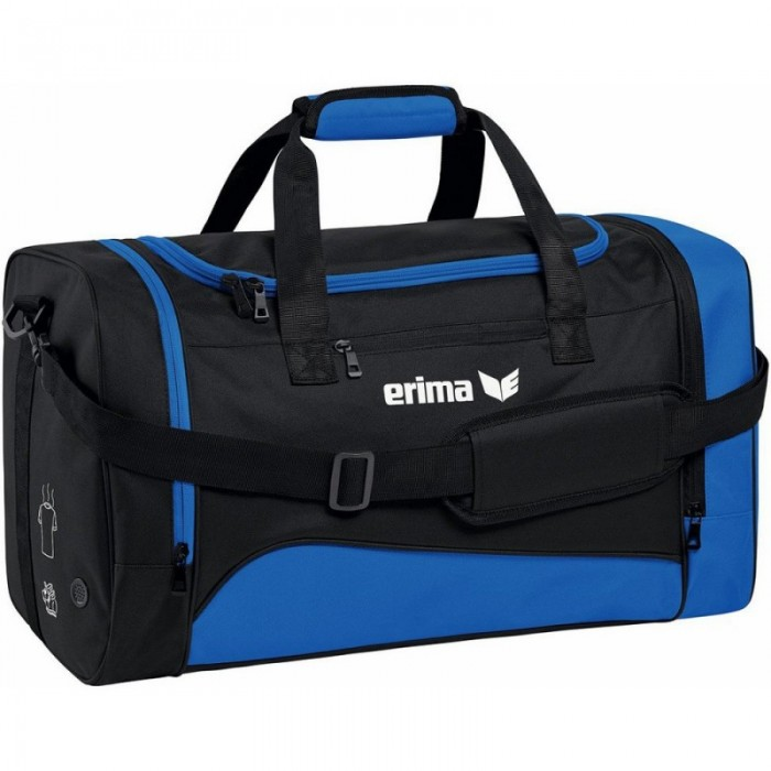 Erima Sporttasche CLUB 1900 2.0 small royal/schwarz
