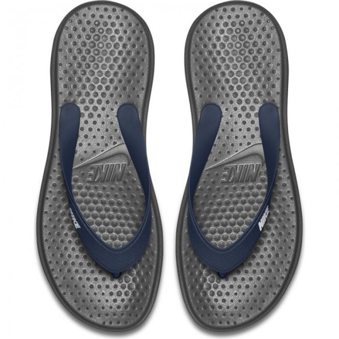 Nike Zehentreter Solay Thong navy/weiß