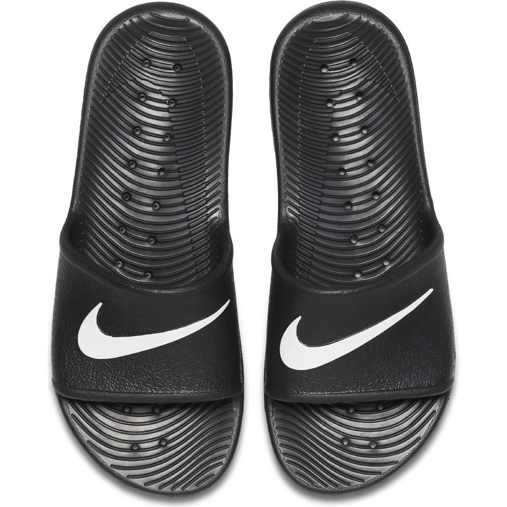 Nike Badeschuhe Kawa Shower Slide schwarz - FUSSBALLcompany.de 006c58b197