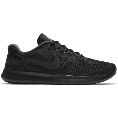 Nike Freizeitschuhe Free RN 2017 schwarz
