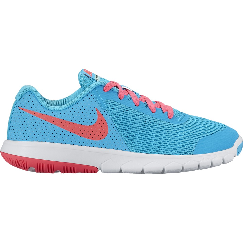 check out 5e063 0203c Nike Kinder-Laufschuhe Flex Experience 5 (GS) blauorange. Loading zoom