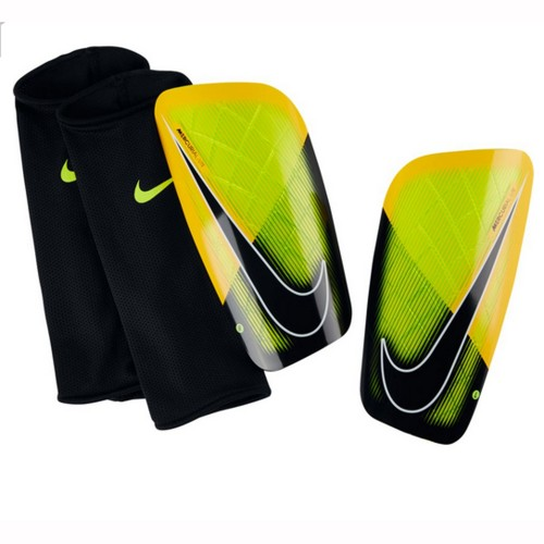 Nike Schienbeinschoner Mercurial Lite Shin Guards schwarz/orange