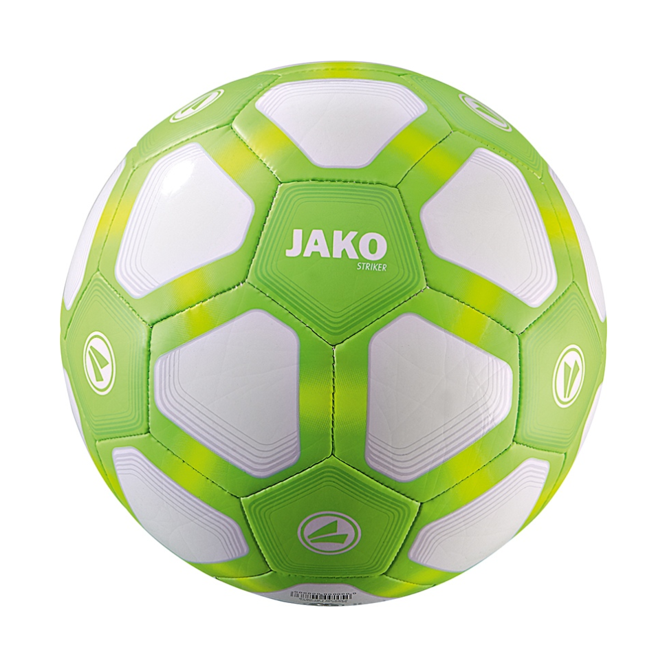 Jako Football Striker 290g Lightball white/neongreen/neonyellow