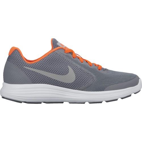 Nike Laufschuhe Revolution 3 Kinder grau/silber/orange