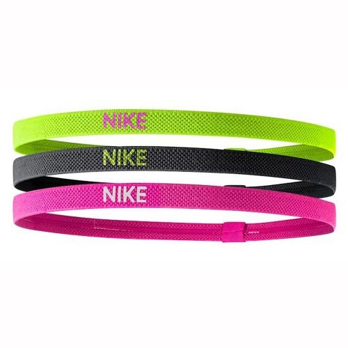 Nike Haarbänder 3er-Pack gelb/schwarz/pink