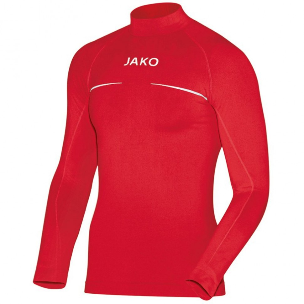 Jako Turtleneck Comfort Kids red