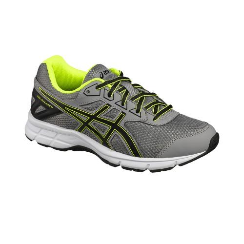 Asics running shoes Gel-Galaxy 9 GS Kids gray/yellow