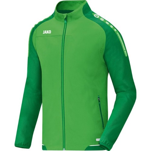 Jako presentation jacket Champ soft green/sport green