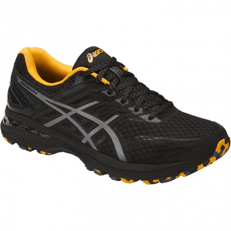 Asics runningshoes GT-2000 5 Trail Plasma Guard black/yellow