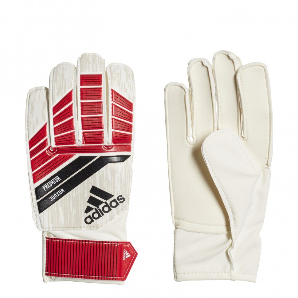Adidas Goalkeeper Handshoes Predator junior white/red/black