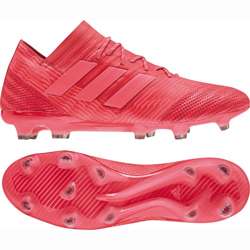 Adidas soccer shoes Nemeziz 17.1 FG red