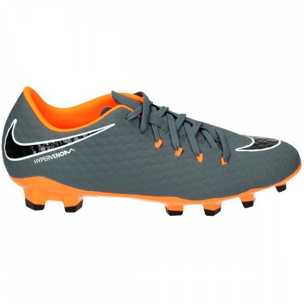 594a25c22fee6b Nike Fussballschuhe Hypervenom Phantom 3 Academy FG grau orange. Loading  zoom