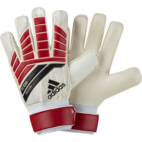 Adidas Goalkeeper Handshoes Predator Training white/red/black
