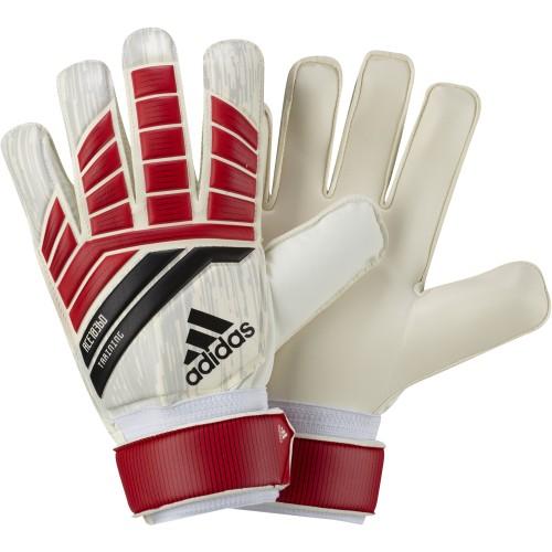 Adidas Goalkeeper Handshoes Predator Training white/red/black