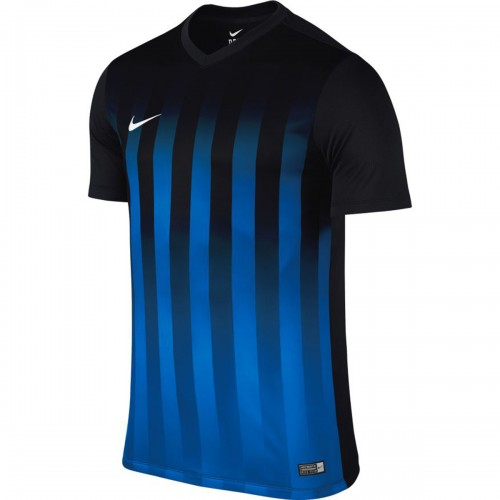 Nike Trikot Striped Division II schwarz/blau
