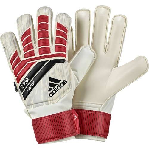 Adidas Goalkeeper Handshoes Predator junior white/red/black