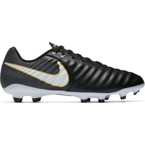 Nike soccer shoes Tiempo Ligera IV FG black/white