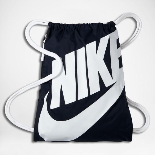 Nike Turnbeutel Heritage dunkelblau/weiß