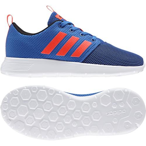 Adidas NEO Freizeitschuhe Swifty Kinder blau/weiß