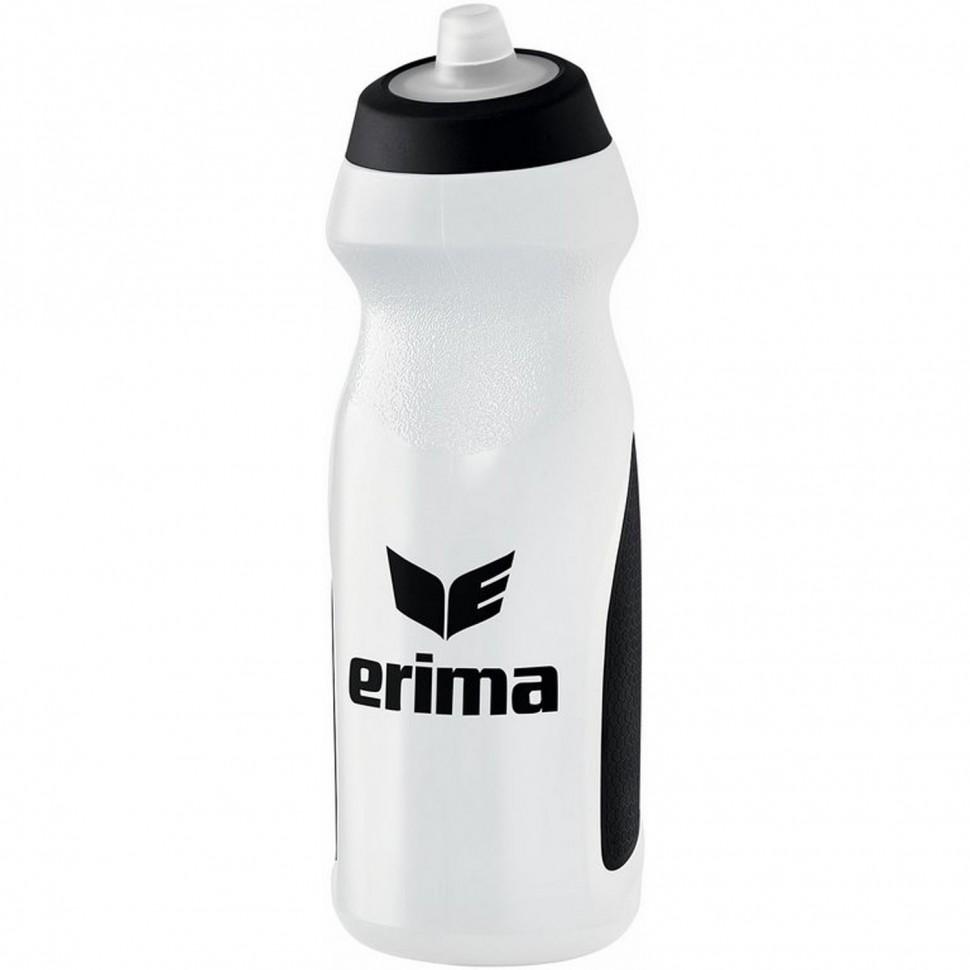 Erima water bottle 0,7 l white