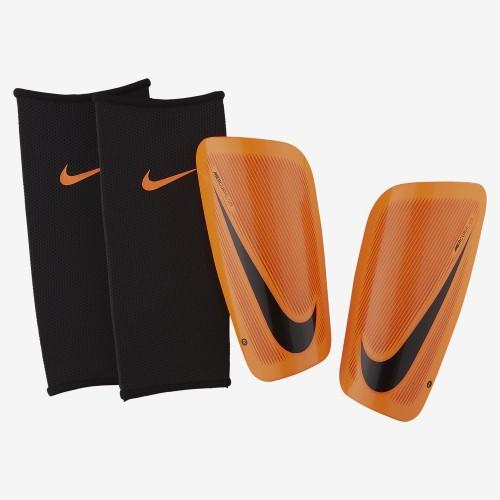 Nike Mercurial Lite Schienbeinschoner orange/schwarz