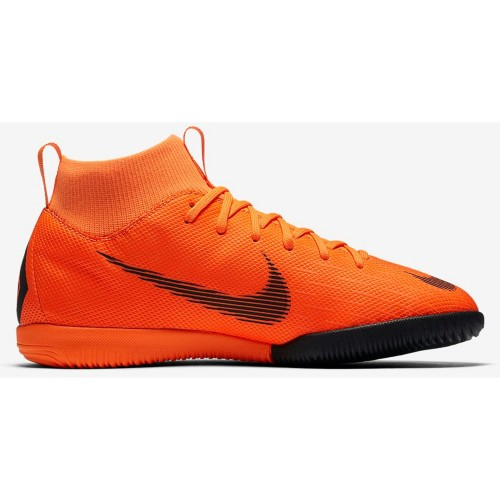 Nike Indoor-SoccershoesMercurialX Superfly VI Academy IC Kids orange