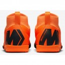 Nike Hallen-Fussballschuhe MercurialX Superfly VI Academy IC Kinder orange