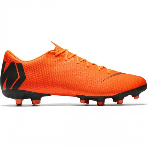 Nike soccer shoes Vapor 12 Academy MG orange/black