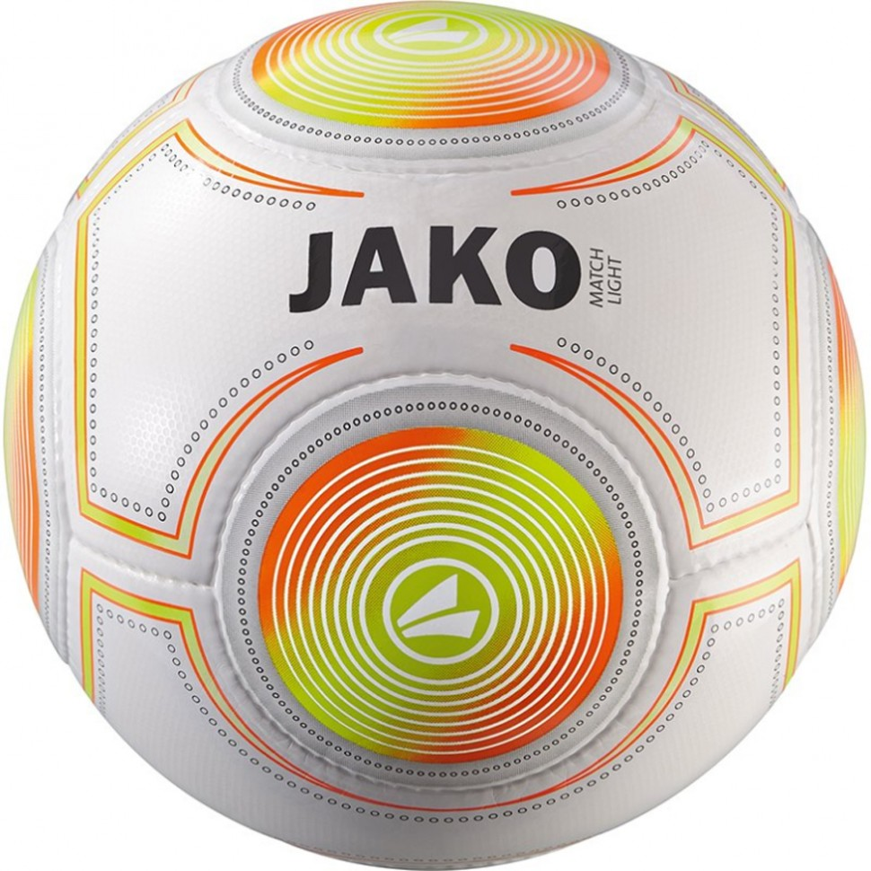 Jako Football Lightball Match 350g white/orange