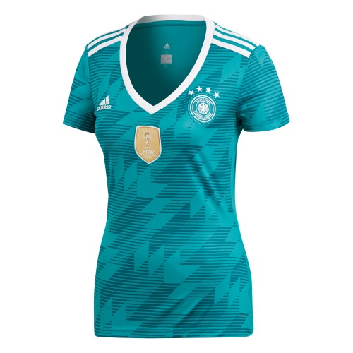 Adidas DFB Auswärtstrikot Replika Damen petrol