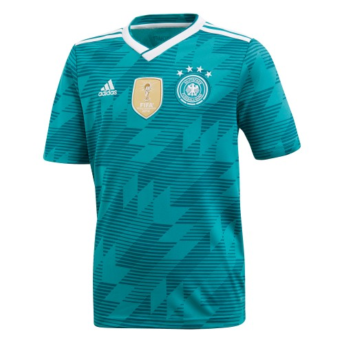 Adidas DFB Away Jersey Replika Kids petrol
